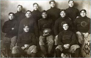 Carlisle Indian School football team 1907 starting lineup