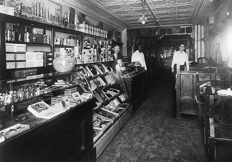 Chocolate Shop Carlisle, PA circa 1900s