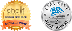 Two book award badges